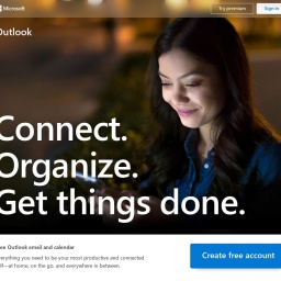 outlook.live.com网站截图